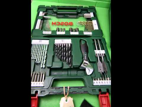 39908 Bosch Tin Drill Set