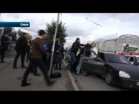 В Омске активисты СтопХам стали участниками драки со стрельбой