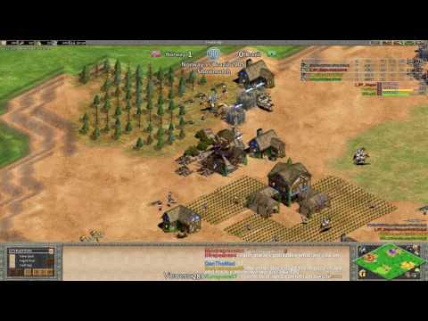 Aoe2 Norway Vs Brazil 200 Showdown Insane Game 2