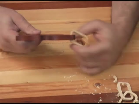 Chain Saw, Scroll Saw Pattern Demonstration Part two