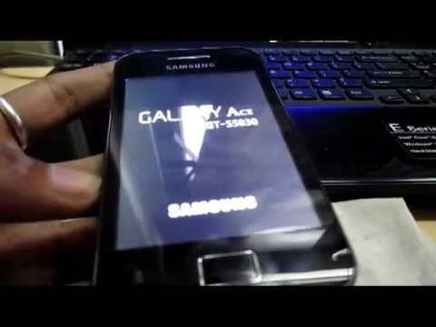 How to install ClockWorkMod Recovery on Smasung Galaxy Ace GT...