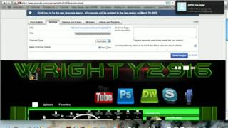 Youtube Banner Hack Glitch 2012