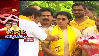Nandamuri Suhasini Nomination Today | Suhasini Political Entry | Prime Time Debate