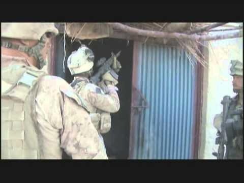 Marines and Afghans Raid a Bazaar
