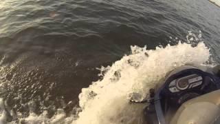 2015 trip to arcadia lake jet ski ride