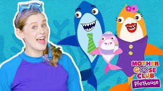 NEW | Baby Shark | Animal Songs | Mother Goose Club Playhouse Songs for Children | #BabySongs Rhymes
