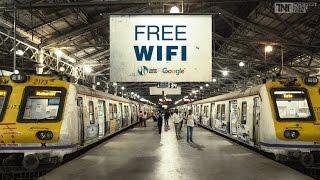 Free Wifi on Railway Station | How to use free wifi | India | Mumbai