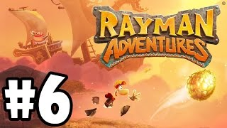 Rayman Adventures (Adventure 16 - 18) iOS / Android Gameplay Video - Part 6