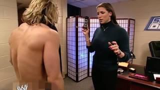 Stephanie McMahon & Brian Kendrick Backstage