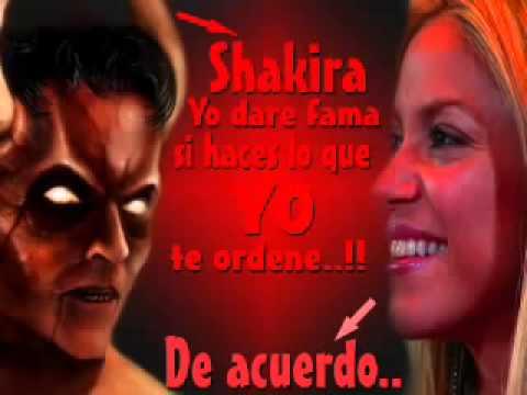 Shakira Servidora Satanica  INCREIBLE )