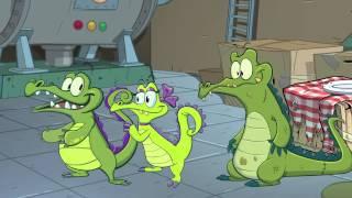 Крокодильчик Свомпи - под давлением.