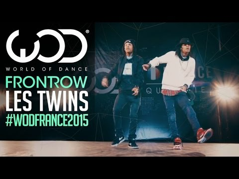 Les Twins | Frontrow | World Of Dance France Qualifier 2015 | #wodfrance video