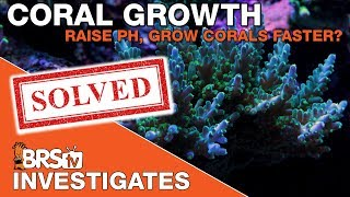 Reef Tank pH, benefits of raising saltwater aquarium pH | BRSTV Investigates