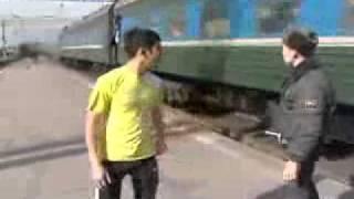 Азербайджанец опоздал на поезд
