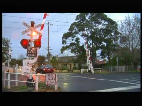 Freedom Of Information documents reveal the 50 most dangerous level crossings, creating a push to place more underground like the recent Springvale Road Nuna...
