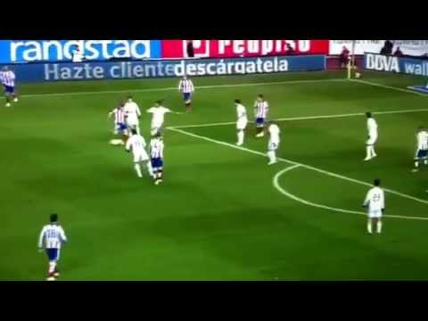 Atletico Madrid vs Real Madrid 7/1/15 a bit of First Half