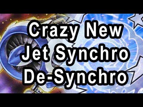 Crazy New Jet Synchro De-Synchro Deck DUEL + DECK PROFILE