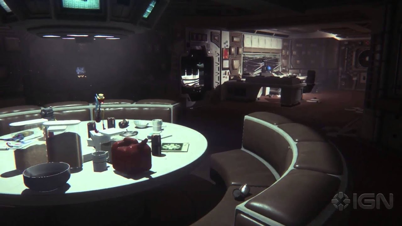 Alien isolation gameplay commentary youtube for Table 9 movie