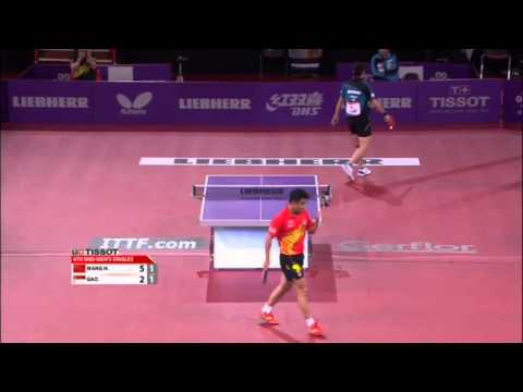 WTTC 2013 Highlights: Wang Hao vs Gao Ning (1/8 Final)