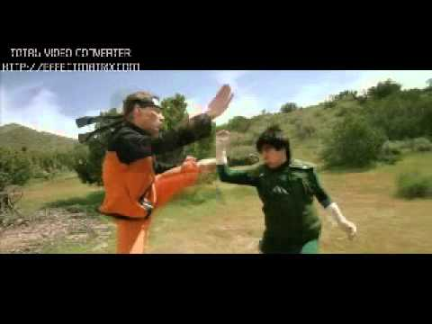 Naruto Shippuden Dreamers Fight Live Action Sub Español