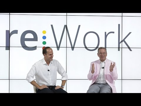 Eric Schmidt & Laszlo Bock talk at re:Work