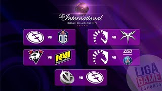 VG Vs EG  - The International 9 | Group Stage Day 2