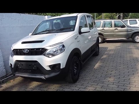 Mahindra NuvoSport Price in India, Review, Test drive | Smart Drive 22 May 2016