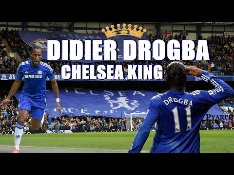 ● Tribute to Didier Drogba ♛ Chelsea King ● 2004/2015