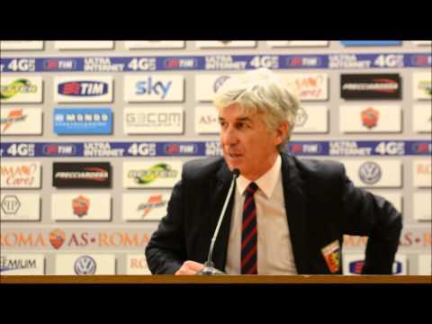 nterviste Roma-Genoa 4-0: Gian Piero Gasperini