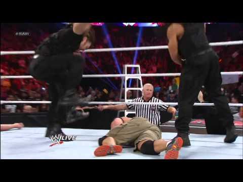 John Cena vs. Big Show: Raw, Dec. 10, 2012