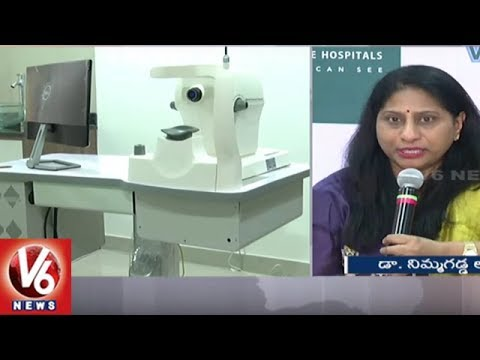 Win Vision Eye Hospitals To Launch It's New Branches in Kukatpally & Gachibowli | V6 News