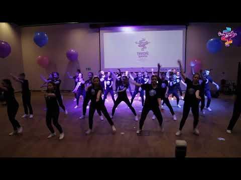 """Финал конкурса """"Танцуй, школа!"""": выступление команды лицея №22"""