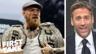 Conor McGregor is not needed in UFC - Max Kellerman   First Take