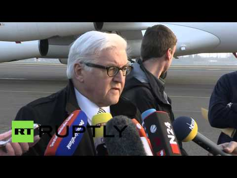 Germany: 'New elections to be held in east Ukraine' – FM Steinmeier