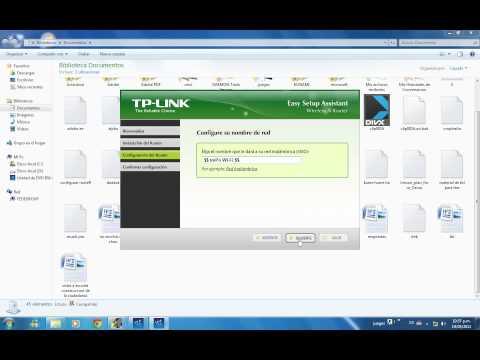 CONFIGURAR ROUTER TPLINK EN TRES PASOS 2/3
