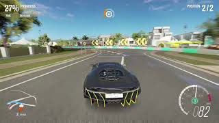 The epic race in Forza Horizon