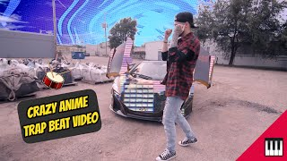 CRAZY Beat Anime Music Video | TRAP BEAT | [ Instrumental ]