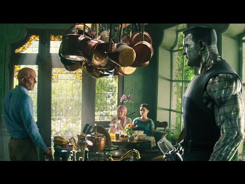 Deadpool 2: Exclusive Deleted X-Mansion Scene