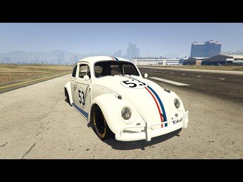 GTA 5 Herbie Mod (Volkswagen Beetle)