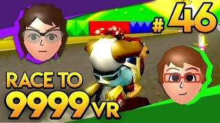 Mario Kart Wii - Second Sometimes, First Sometimes! - Race To 9999 VR   Ep. 46