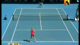 Nicole Vaidisova vs Alicia Molik 2008 AO Highlights