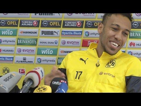 Pressekonferenz: Pierre-Emerick Aubameyang im Interview   BVB total!