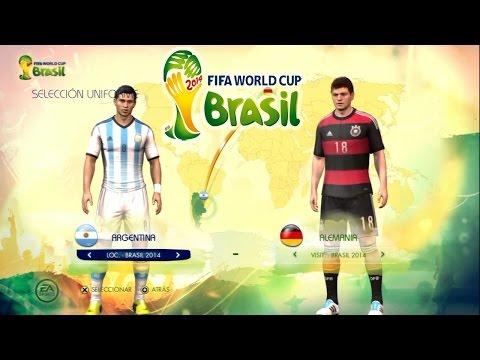 FIFA 2014 World Cup - Argentina vs Alemania (Jugando La Final y Mis Predicciones)