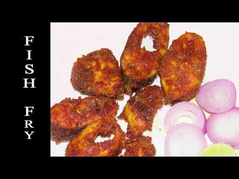 Fish Fry Recipe in Telugu-Restaurant style Fish Fry-Simple&Delicious Fish Fry-Fish Recipe in telugu