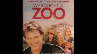 Movie Review 154 - We Bought a Zoo - Video Blog