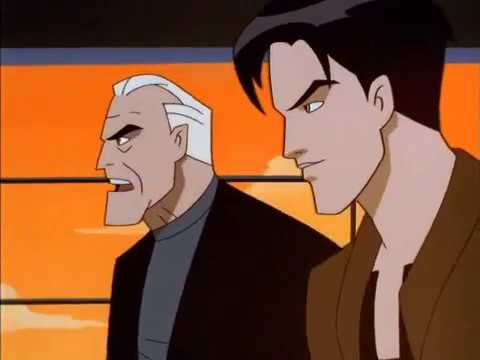 Batman Beyond Bruce is suspicious of Derek Powers