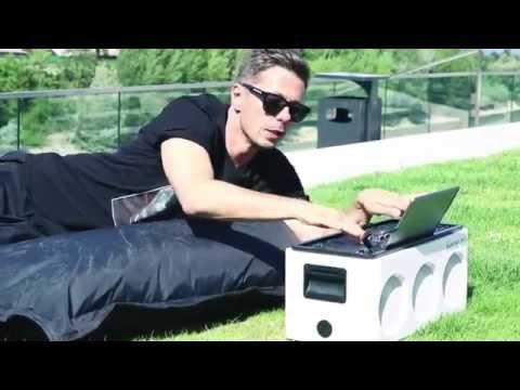 Die Fantastischen Vier präsentieren das Philips  M1X DJ-Soundsystem