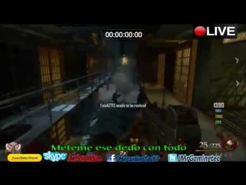 MrGamingTec Jugando Con Ustedes Black Ops 2 Uprising y zombie