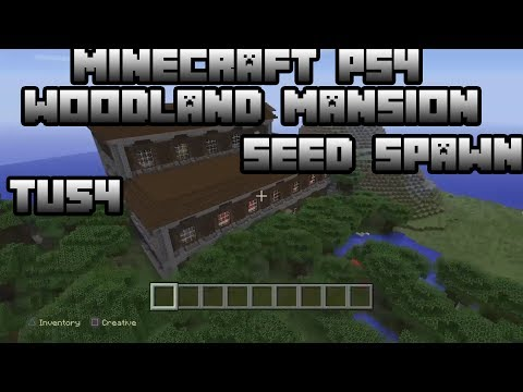 MineCraft Console tu54 | WoodLand Mansion Seed Spawn!