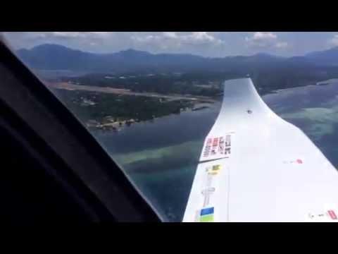 Atterrissage à Puerto - Princesa International Airport